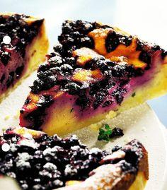 Mustikkajuustopiirakka,  45min    Finnish Blueberry Pie
