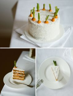 the cutest ever carrot cake by Cereal Magazine: