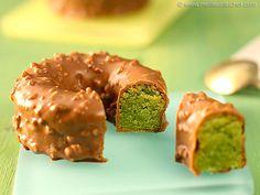 Biscuit pistache enrobé de Gianduja - Meilleur du Chef