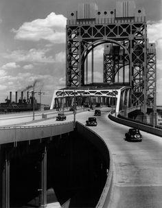 Berenice Abbott / Triborough Bridge, New York, 29 June 1937