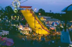 Giant slide at the Ohio State Fair (July 25-Aug. 5, 2012) @OhioStateFair