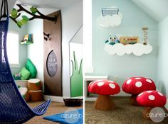 Dreamy Playroom! via DesignLovesDetail.com