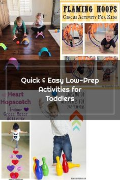 Toddler Approved!: Quick & Easy Low-Prep Activities for Toddlers Circus Activities, Gross Motor Activities, Indoor Activities, Toddler Activities, Hopscotch, Toddlers, Prepping, Easy, Children Activities