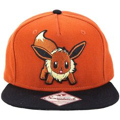 Pokemon Eevee Character Snapback Hat Hot Topic ( 15) ❤ liked on Polyvore  featuring accessories 26e08636d748