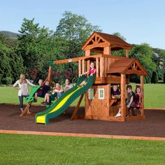 about cedar swing sets on pinterest swing sets wooden swing sets
