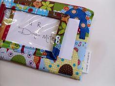 Ameroonie Designs: wallet with ID window