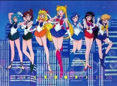 Sailor Moon Crystal, Sailor Moon Luna, Sailor Jupiter, Sailor Venus, Moon Illustration, Sailor Scouts, Aesthetic Anime, Lady Lady, Animation