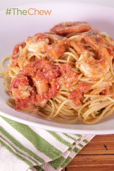 Recreate the famous Shrimp Bolognese dish from Bill Telepan in the comfort of your own home!