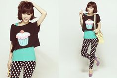 Cupcake lady (by MAGIC  YANG) http://lookbook.nu/look/4685637-cupcake-lady