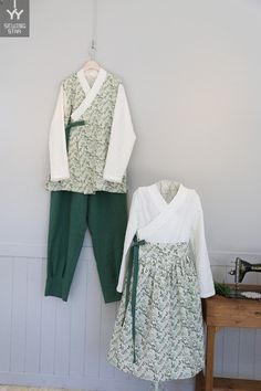 쏘잉별 철릭 가족생활한복 : 네이버 블로그 Armoire, Korea, Kimono Top, Couture, Sewing, Knitting, Blog, Inspiration, Tops