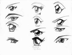 ojos femenino by Gkangi.deviantart.com on @DeviantArt