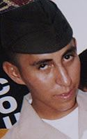 Marine LCpl. Joshua E. Lucero, 19, of Tucson, Arizona.  Died November 27, 2004, serving during Operation Iraqi Freedom. Assigned to 2nd Combat Engineer Battalion, 2nd Marine Division, II Marine Expeditionary Force, Camp Lejeune, North Carolina. Died of wounds sustained from enemy small-arms fire during the Battle of Fallujah in Anbar Province, Iraq.