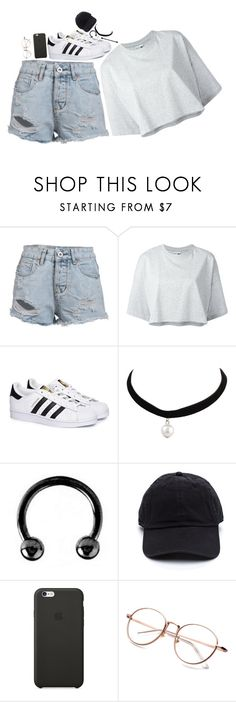 """""""Untitled #782"""" by ema-kitty ❤ liked on Polyvore featuring Puma, adidas, Urbiana and Black Apple"""