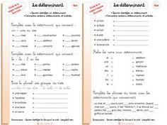 fiche-exercices-determinant-ce1-ce2-grammaire-cycle2-savoir-identifier-un-determinant-connaitre-certains-determinants-et-articles