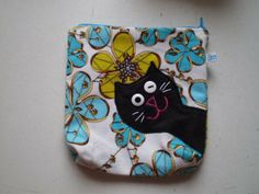 zipper holder with cat - Etelka