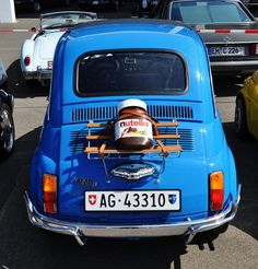 Fiat 500 #WorldNutellaDay