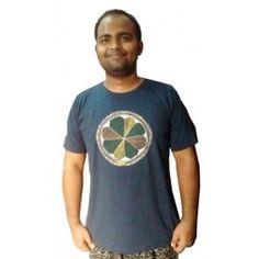 Kalpna Kumari Mithila Painting of Purain on T-shirt
