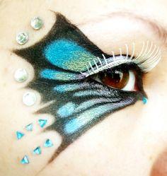 "Карнавален грим ""Пеперуда"""