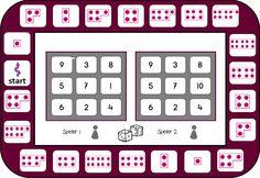 Getalbeelden/kwadraatbeeld bingo