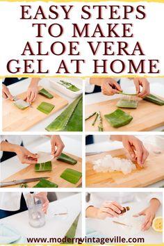 Homemade Skin Care, Homemade Beauty Products, Vitamin E Capsules Uses, Diy Aloe Vera Gel, Aloe Vera Face Mask, Oily Skin Care, Beauty Recipe, Attitude Shayari, Facial Toner