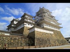 YouTube Himeji Castle, Japanese Castle, Hyogo, National Treasure, Mansions, Wells, House Styles, City, Travel