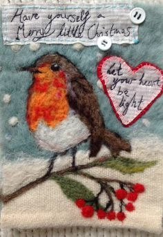 Have yourself a merry little Christmas....Let your heart be light.... (Lou Tonkin)