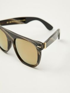 Women - Retro Super Future 'Motorpsycho' Sunglasses - WOK STORE