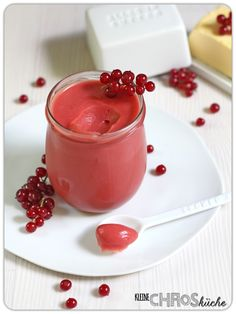 Red Currant Curd   Johannisbeer Creme