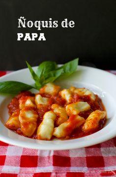 Ñoquis de papa / Gnocchi | En mi cocina hoy