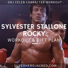 Sylvester Stallone Workout and Diet Plan: Train like Rambo and Rocky ! Sylvester Stallone Workout Routine and Diet: Train like Rocky Balboa, Rambo, and an Absolute Legend Fitness Workouts, Weight Training Workouts, Fitness Motivation, Boxing Training Routine, Hero Workouts, Body Workouts, Quotes Motivation, Training Tips, Full Body Workout Routine