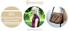 giveaway: Platinum and Rust #vintage #giveaway #contest at stylewiseblog.blogspot.com
