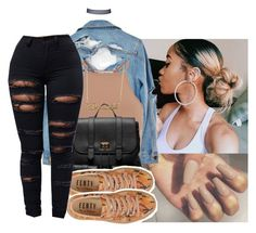""""""""""" by eazybreezy305 ❤ liked on Polyvore featuring High Heels Suicide, NLY Trend, Sole Society, Puma, Forever 21, cute, Trendy and 2016"""