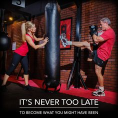 It's never too late to change your life.