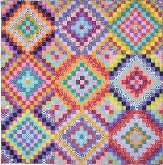 Quilt exhibit at the Michener through Feb. 2016