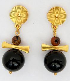 ARZL036 Jewels, Drop Earrings, Personalized Items, Natural Stones, Stud Earrings, Gold, Jewerly, Drop Earring, Gemstones