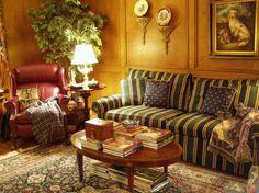 Гостиная в английском стиле (фото) – строгость и богатство в одном интерьере