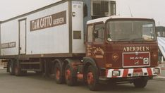 Old Lorries, Old Wagons, Classic Trucks, Cool Trucks, The Good Old Days, Scotland, Transportation, German, The Unit