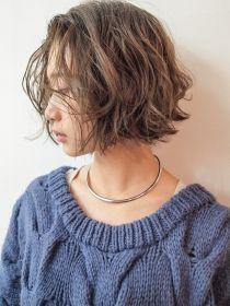シマ キチジョウジ プラスワン(SHIMA KICHIJOJI PLUS1) [SHIMA/安藤圭哉] くせ毛風パーマ×切りっぱなしボブ Hair Lights, Light Hair, Short Curly Hair, Short Hair Cuts, Medium Hair Styles, Curly Hair Styles, Shot Hair Styles, Hair Arrange, Hair Images