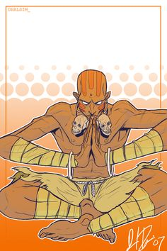 Dhalsim and thats it by ~narutowannabe on deviantART
