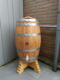 Eigen wijnvat