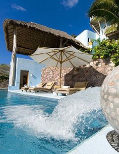 Alluring Oceanfront Villa With Private Pool And Fully Staffed In Costa  Careyes, Mexico   Villa
