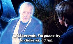 Star Wars: A Bad Lip Reading. I said this to one of my coworkers after he said he didn't like Star Wars. I felt extremely gratified afterward. XD