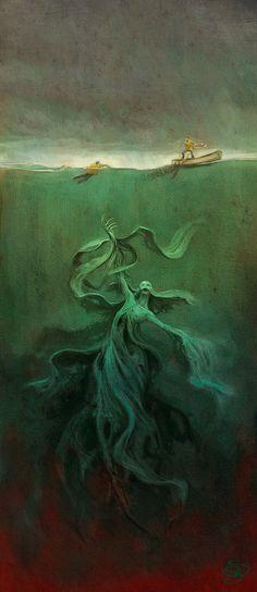 Sebastian Giacobino - I sometimes feel like this is what's under the murky water...