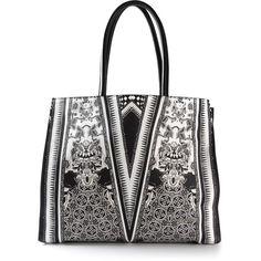 ROBERTO CAVALLI patterned tote bag