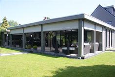 Jan de boer tuinhuizen fotoboek gardening ideas pinterest veranda 39 s platte dak en met - Pergola dak platte ...