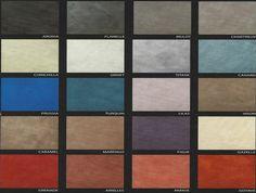 Nuancier ral couleurs : Revêtement de sol décoratif Résine