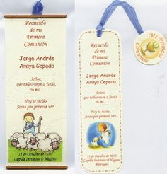 recuerdos primera comunion First Communion, Bookmarks, Special Day, Party Time, Birthdays, Birthday Parties, Baby Shower, Confirmation, Favors