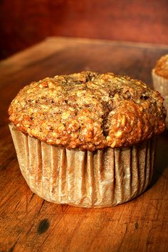 oatmeal muffins, one of my faves
