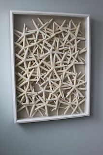 star fish shadow box...for one day when i have a beach house.