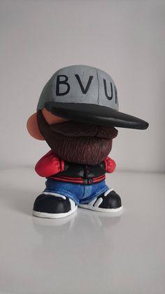 Win Your Very Own Custom Kidrobot Munny BVUK Beardie by Ian Hancox